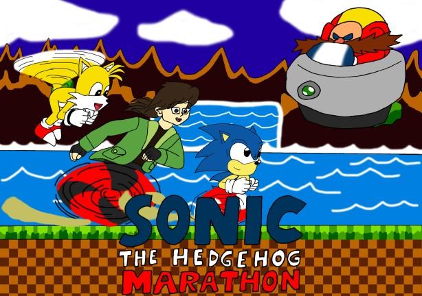 Sonic marathon title card