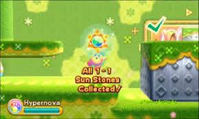 kirby sunstones