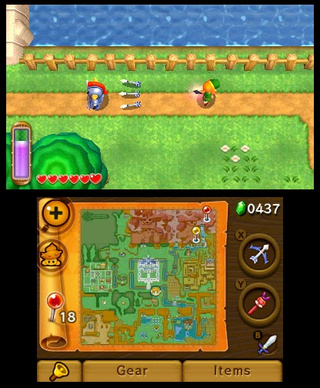 The Legend of Zelda A Link Between Worlds Review | spectrum ...
