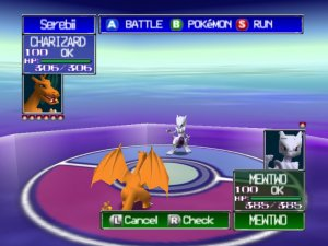 pokemon mewtwo battle