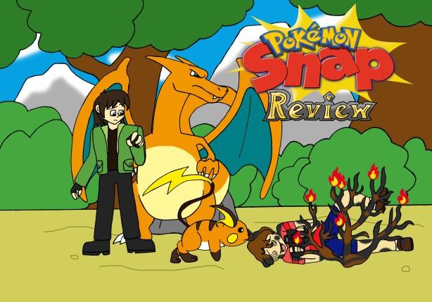 Pokemon Snap Title Card
