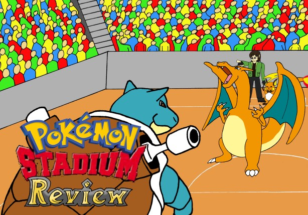 Pokemon Stadium Title Card