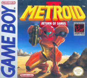 metroid 2 cover