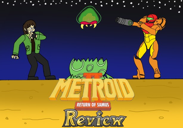 Metroid 2 Title Card