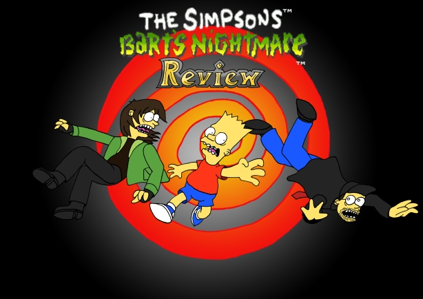 Bart's Nightmare Title Card