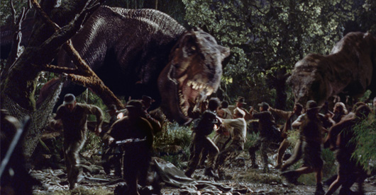 The Lost World: Jurassic Park Movie Review | spectrum reviews T Rex The Lost World Jurassic Park