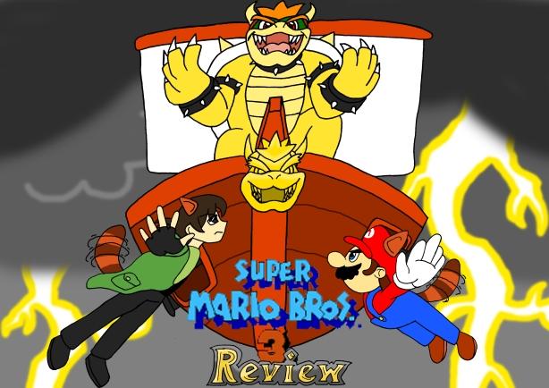 Super Mario Bros 3 Title Card